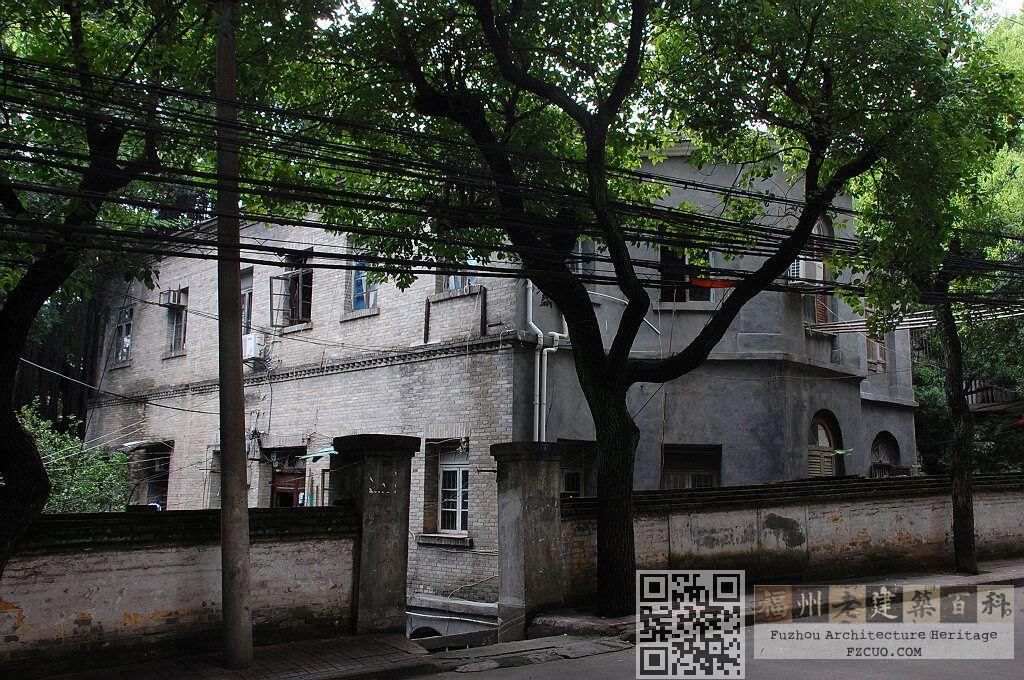 闽海关宿舍楼立面(拍摄:池志海)