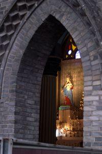 泛船埔天主堂内景(拍摄:nenva / 2007年3月)