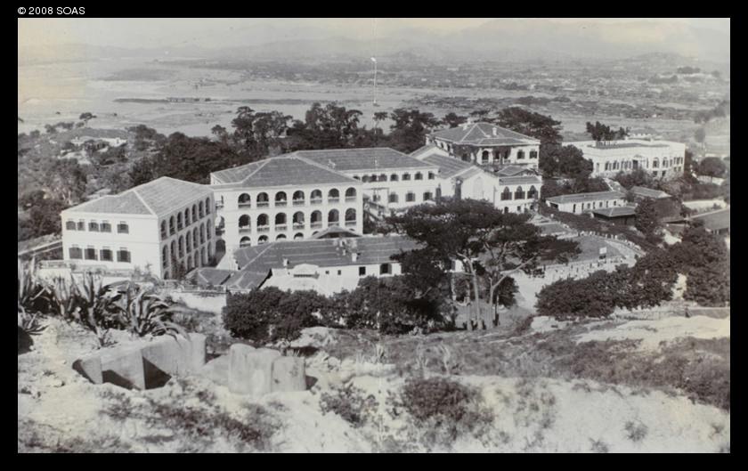 1903年的陶淑女子学校,刚从东窑移至岭后新校舍。(来源:SOAS)