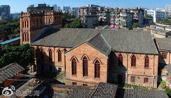 苍霞洲基督教堂(拍摄:池志海/2011.12)