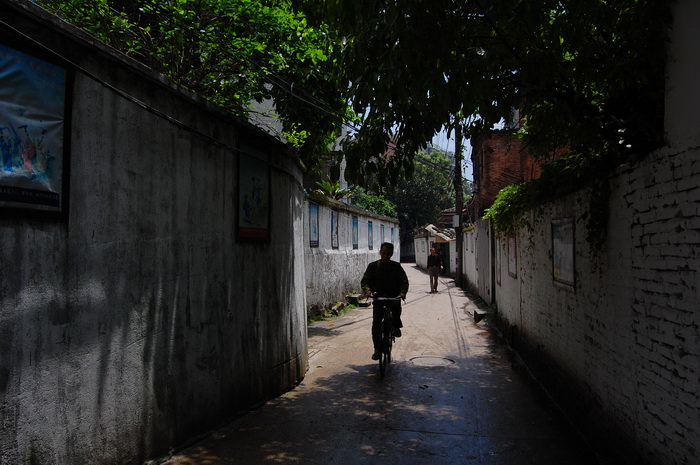 马厂街街景(拍摄:池志海/2011)