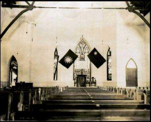 1945年的力礼堂内景(Elworth Smith拍摄,Randy Smith教授提供)