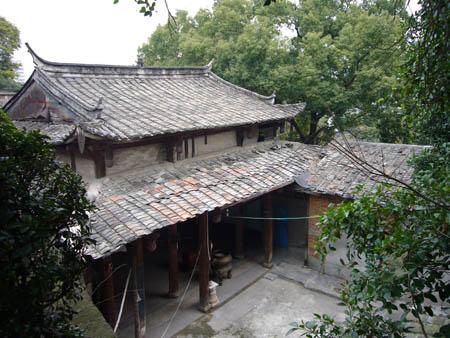 弥陀寺正面(拍摄:望鳌轩居士2008.2)