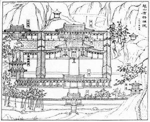 华林寺复原图