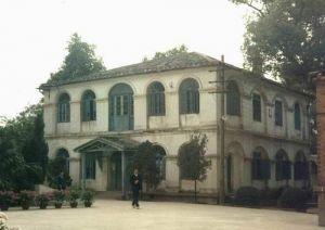 1993年拍摄的俄国领事馆官邸,位于福州第九中学(原三一学校)内(来源:火燄山摄于1993年)
