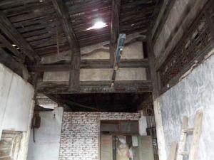2008年的南离总管庙。火焰山摄