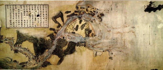 福州炮台大要全图(来源:北京大学图书馆)
