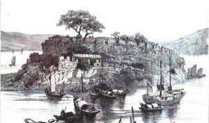 1884年圆山水寨战前准备
