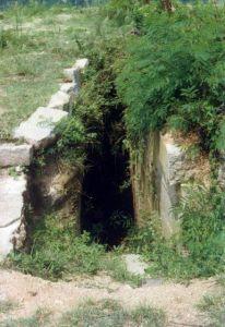 彈藥庫入口 火燄山 1995