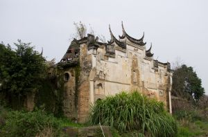 怀安五帝庙外观(拍摄:ahaofz 2012年3月18日)