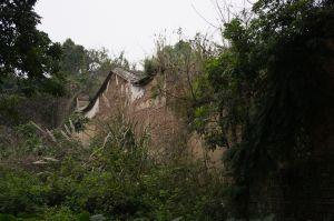怀安衙署西面风火墙(拍摄:ahaofz 2012年3月18日)