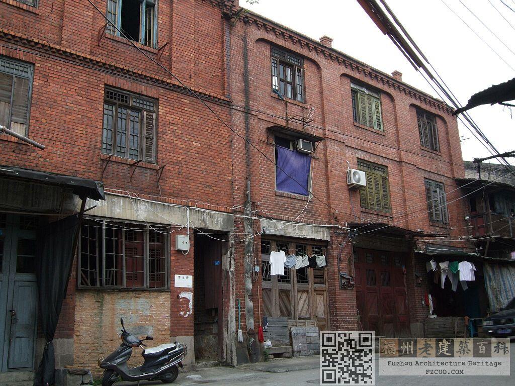 亭下路45-49号(右侧红砖建筑,拍摄:nenva,2008年8月)