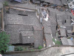 亭下路沿路建筑鸟瞰 靠近仓前路位置 (拍摄:EdDuck/2011.10)