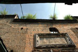门墙和门额(小飞刀摄于2009年7月)