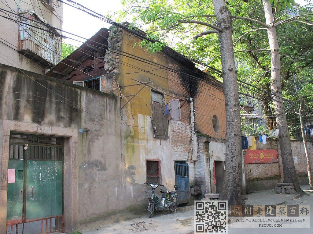 位于现巷下路12号的建筑遗存,疑为巷下庙之残留(拍摄:nenva,2012年5月)