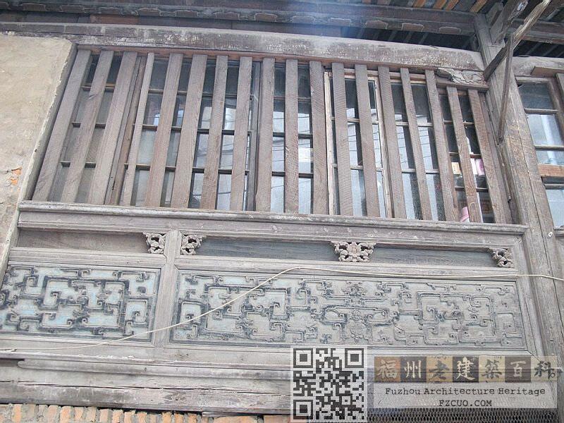 建筑内部的雕花板(拍摄:nenva,2012年5月)