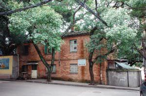 进步路拍摄的毓英女中校长公寓西立面(拍摄:池志海/2011)