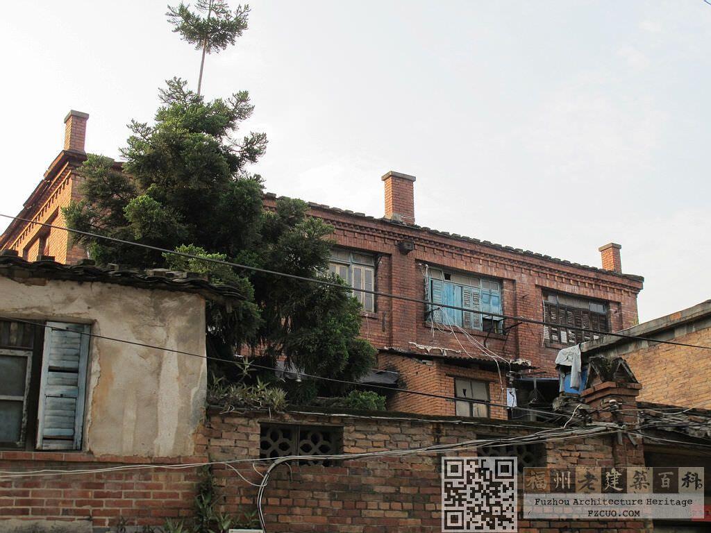 从三一弄拍摄的赓庐、绍庐(拍摄:nenva,2012年5月)