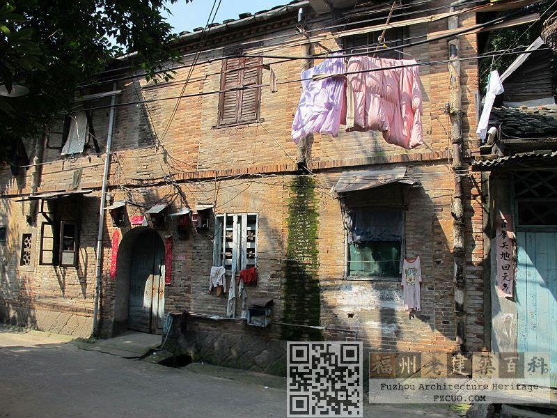 象山里1号大院南立面(沿象山里)(拍摄:林轶南,2012年5月)
