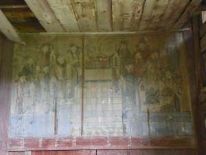 龛楼的十二城隍图 火燄山 2012.5