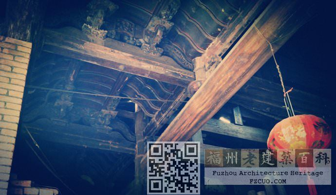 虽然成了民宅,但庙的结构依然完整,许多构件保存完好