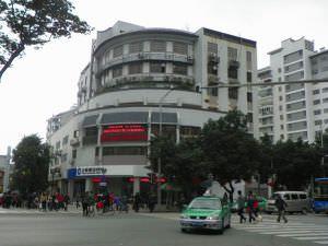 拆毀林觉民故居后建的三山大厦