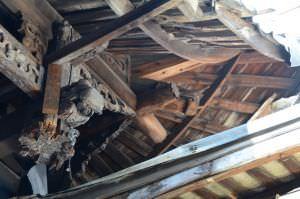 歇山顶的屋角结构(拍摄:红衣棒糖人/2012.7)