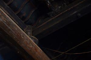 横撑减柱法(拍摄:红衣棒糖人/2012.7)