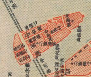 1949年的中洲岛地图(来源:福建省图书馆)