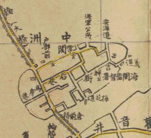 1928年的中洲岛地图(来源:福建省图书馆)