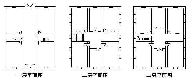 天祥洋行办公楼平面(薛颖绘)