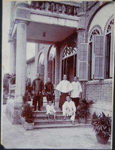 邑秀山庄外景(约摄于1920年代,陈道亮医生提供)
