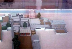 五十年代的福州一中模型 福州一中180周年校庆展览