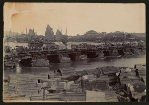 1900-1910年间的万寿桥(来源:哈佛大学燕京图书馆)