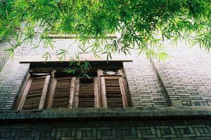 忠庐窗子(拍摄:池志海/2013)