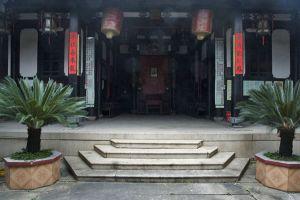 主体天井与厅堂(小飞刀摄于2012年6月)