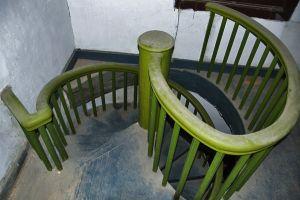 螺旋木楼梯(小飞刀摄于2012年6月)