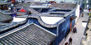 修复后全貌(来源:《福州衣锦坊水榭戏台古建筑群修复工程》)