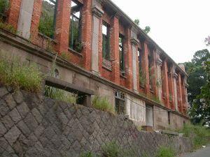 建筑背立面,可与2003年火灾时照片对比(来源:福州市规划院)