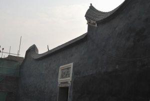 改造后的原176号风火墙(驿动的心摄于2008年12月)