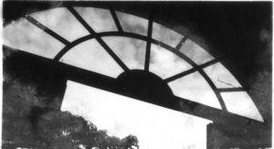 清庐楼上走廊的窗户(来源:林正德医生博客《清庐往事》)