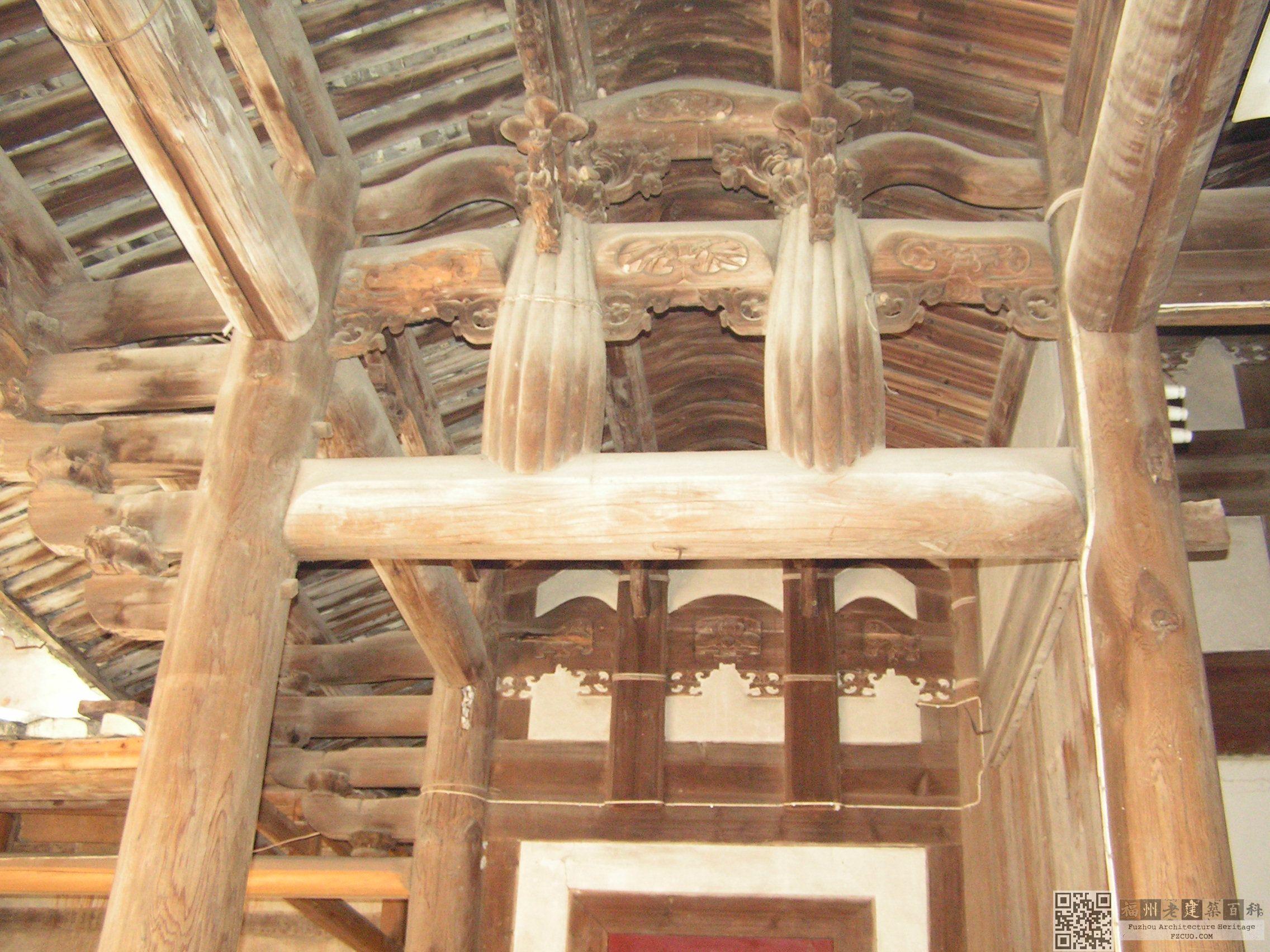 古代廊的结构设计图纸