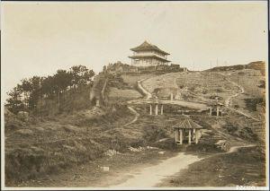 1929-1930年左右的镇海楼(来源:东洋文库《亚东映画集》第4册(54-71回))