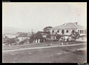 1880年代拍摄的的美国领事馆(位于现仓山区立新路5号)(来源:高士威的相册,布里斯托尔大学馆藏)