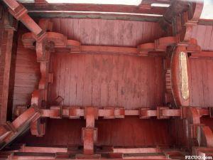 大殿前廊斗拱 2003年 福州市博物馆