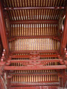 室内纵向构架 2003年 福州市博物馆