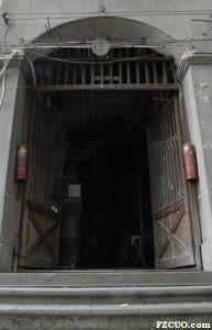 入口木制大门(小飞刀摄于2010年)