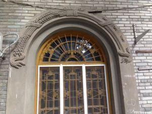 窗套细部(来源:莆阳年微漾的博客,摄于2014年12月)