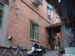 岭后拆迁前的寿田庐-曾住户吴先生提供