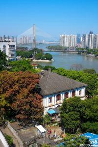 俯瞰爱国路2号(拍摄:池志海/2015)